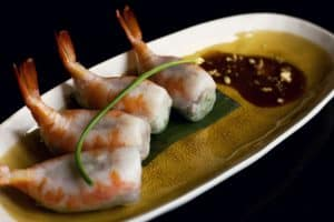 vietnamese stuffed king prawns